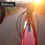 cykler til solnedgang