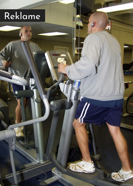 træning på crosstrainer